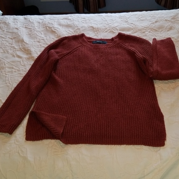 9ab680f4a0897a Forever 21 Sweaters | Rust Sweater 1 | Poshmark